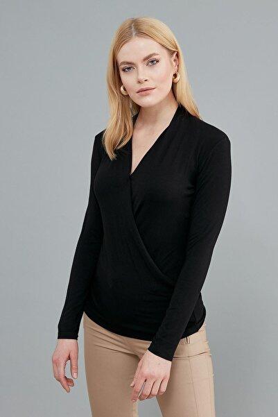 Journey Kadın Siyah Bluz