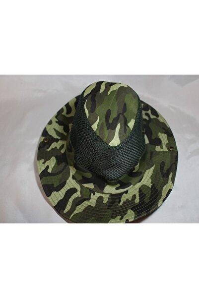 Hunter Kamuflaj Desenli Şapka