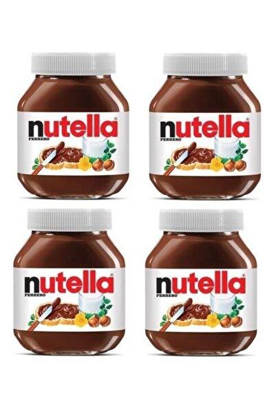 Nutella Kakaolu Fındık Kreması Çokokrem Cam Kavanoz 4 Ad X 750 gr