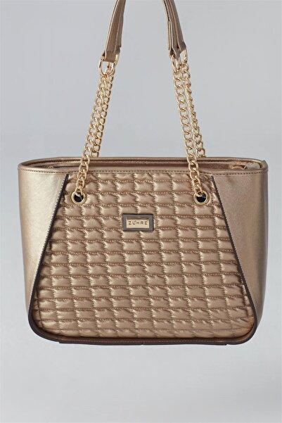 Zühre Kadın Altın Çanta