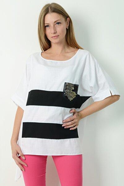 Herry Kadın Beyaz Bluz H20dmy6736112