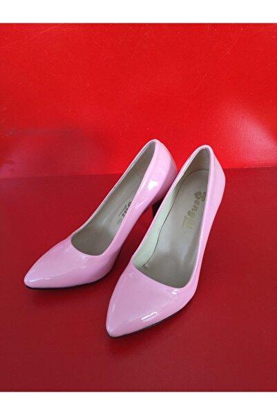DMR Kadın Pembe Steletto Ayakkabı