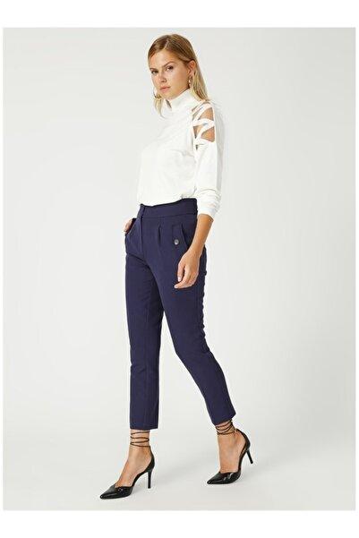 Fabrika Kadın Lacivert Pantolon