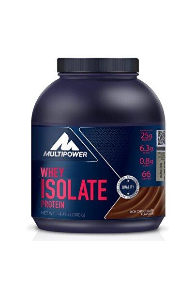 Multipower Whey Isolate Çikolata 2000 Gr