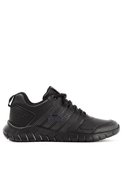 Slazenger Erkek Siyah Paradox I Koşu & Yürüyüş Ayakkabısı