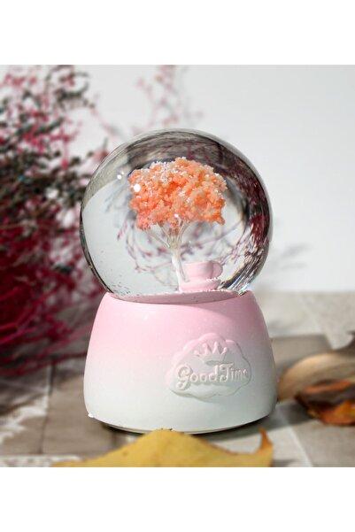 Gezginimport Kar Küresi Hayat Ağacı Tasarımlı Müzikli Işıklı Kar Küresi