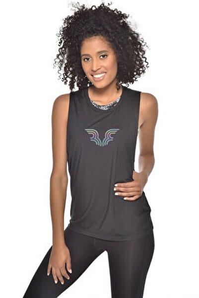 Kadın Siyah Bra Üstü Atlet GW-9205