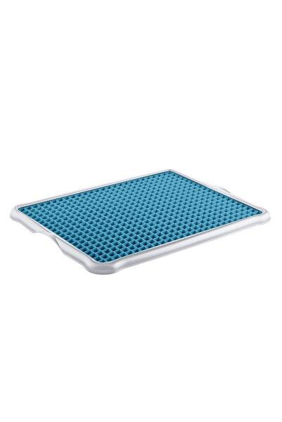 HOBBY LİFE Demet Süzmatik Bulaşık Kurutmalığı -  Beyaz Mavi