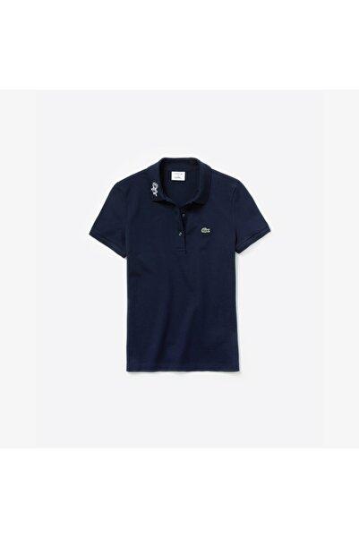 Lacoste Kadın Lacivert X Keith Haring Polo Yaka T-Shirt