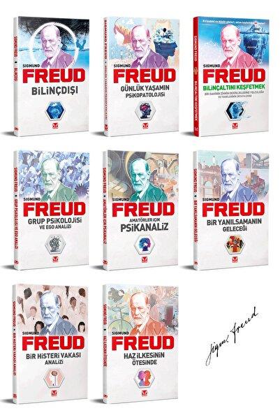 İkilem Yayınevi Sigmund Freud Kitap Seti - 8 Kitap, Bilinçaltı, Bilinçdışı, Psikanaliz Ve Kitle Psikolojisi