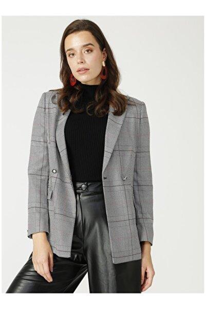 Fabrika Kadın Siyah Ceket