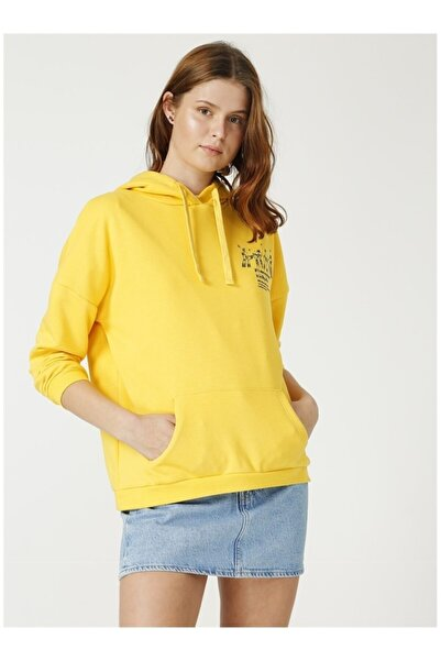 Fabrika Kadın Sarı Sweatshirt