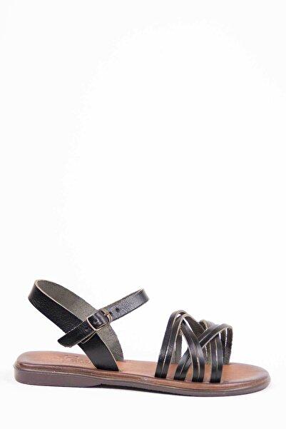 Oioi Kadın Siyah Sandalet 1017-123-0003_1002