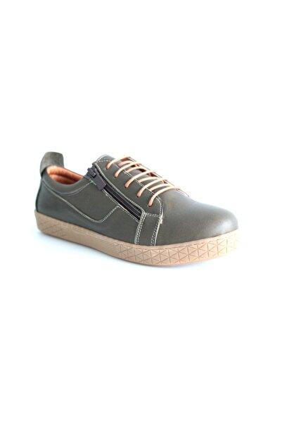 Re Beta Shoes Kadın Yeşil Ayakkabı