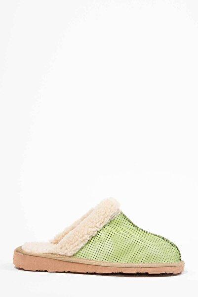Oioi Kadın Yeşil Ev Terliği 1004-127-0001_1009