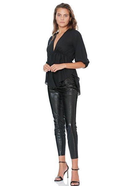 Keikei Kadın Siyah Bluz