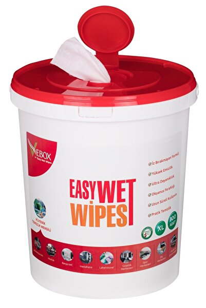 VEBOX Easy Wet Wipes Islak Kova Mendil 300 Adet