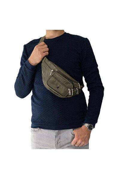 Strong Bag Unisex Yeşil Çok Fonksiyonlu Bel Ve Göğüs Çantası M1296