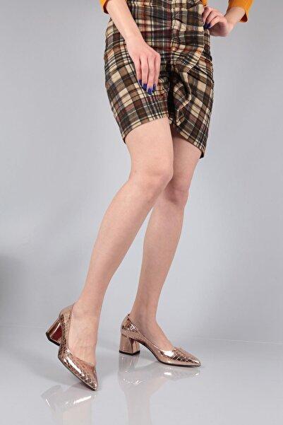 Capone Outfitters Kadın Rose Renk  Gloria Büyük Numara Topuklu Ayakkabı