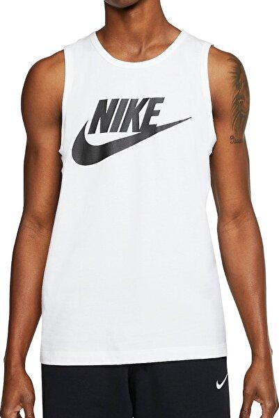 Nike Erkek Spor Atlet - M NSW TANK ICON FUTURA - AR4991-101