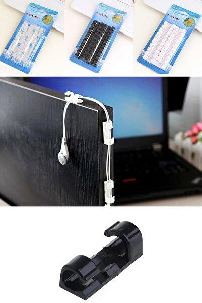 Buffer Ev Ve Ofis Için 20'li Yapışkanlı Kablo Düzenleyici Ve Toplayıcı