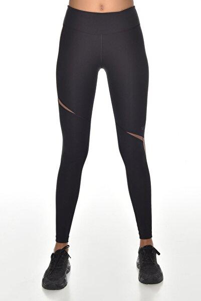 bilcee Kadın Siyah Yüksek Bel Sporcu Tayt Gw-9217