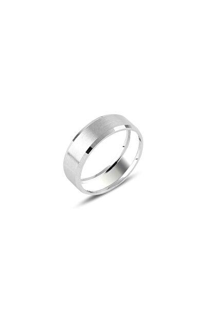 Molenza Düz Gümüş Alyans