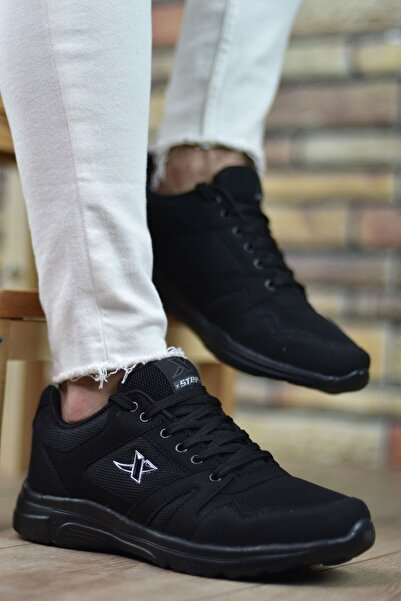 Riccon Siyah Siyah Unisex Sneaker 12020
