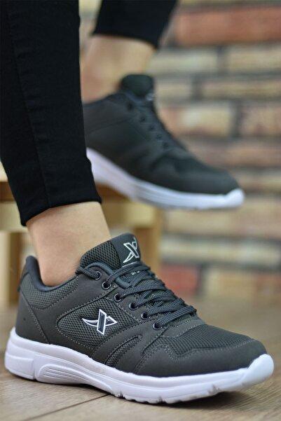 Riccon Füme Beyaz Unisex Sneaker 12020