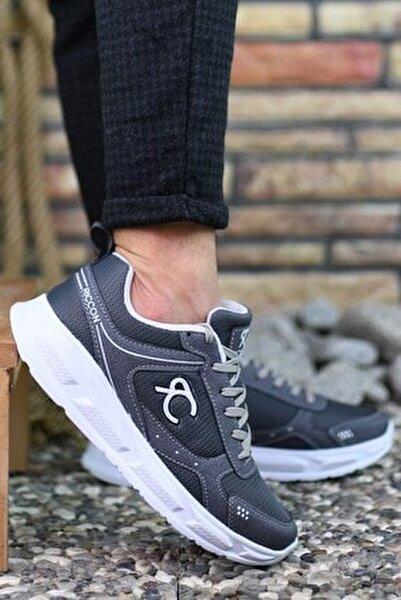 Füme Beyaz Erkek Sneaker 0012S06