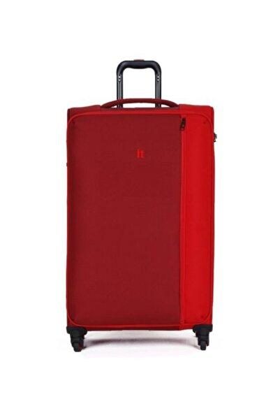 IT LUGGAGE Divison Lüks Kumaş Tango Kırmızı Büyük Boy Valiz 2284