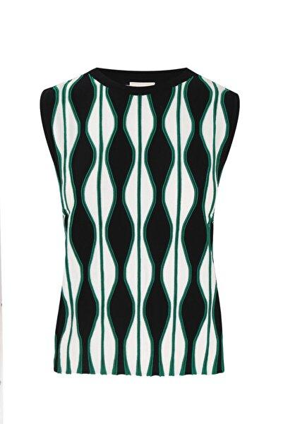 W Collection Kadın Yeşil Bluz