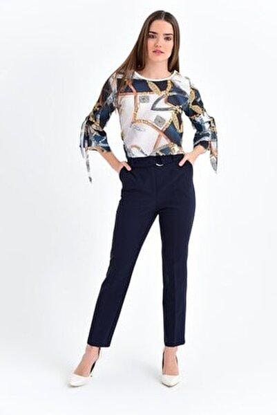 Kadın Lacivert Pantolon 2522