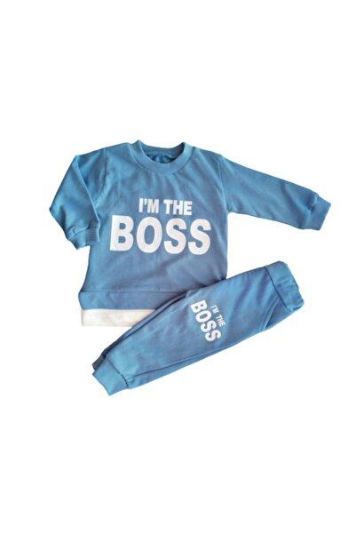 Baby Doss Erkek Çocuk Mavi İkili Takım