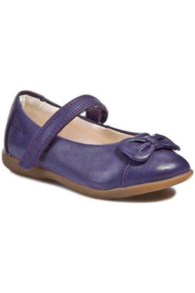 CLARKS Kız Çocuk Mor Ayakkabı