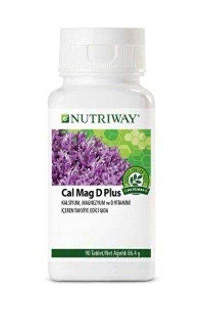 Amway Calcium Magnesium D Plus Nutrıway-90 Adet
