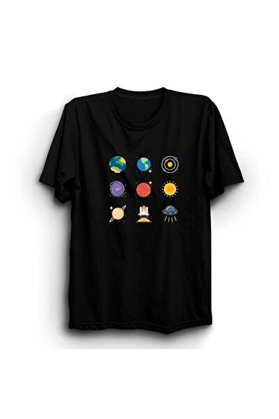 The Fame Gezegenler, Nasa, Uzay, Ay, Dünya Tişört