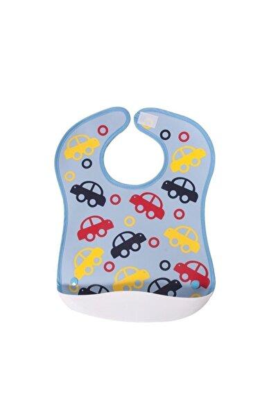 Sevi Bebe Plastik Cepli Önlük Art-72 Arabalı