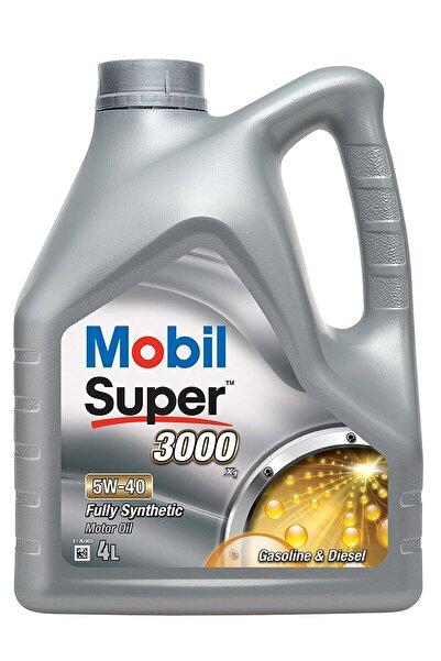 Mobil Super 3000 X1 5w40 Motor Yağı 4 L 5w/40 X1