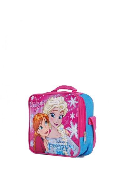 Frozen Kız Çocuk Mavi Anna Elsa Beslenme Çantası 96456