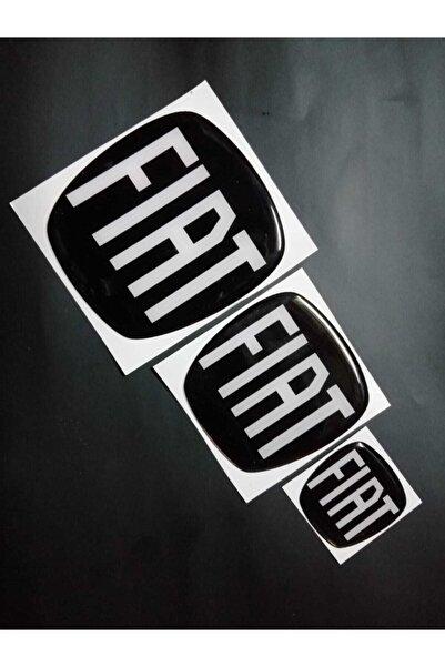 CVS Fıat Egea ( Hatchback) Siyah Logo Set (3'lü)