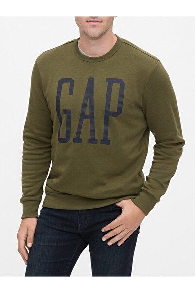 GAP Logo Yuvarlak Yaka Sweatshirt