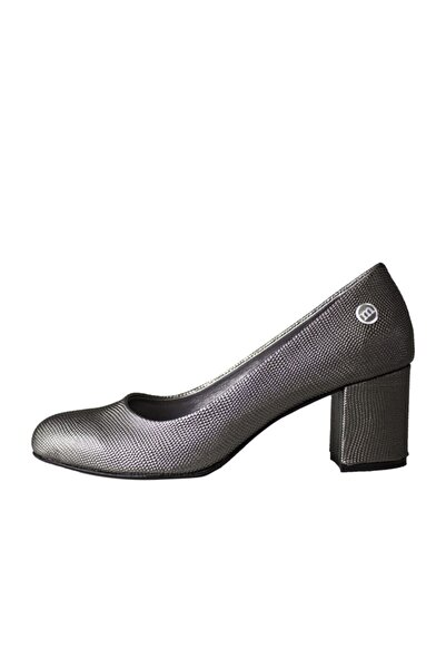 Mammamia Kadın Platin Topuklu Ayakkabı
