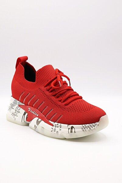 Guja Kadın Kırmızı Spor Ayakkabı