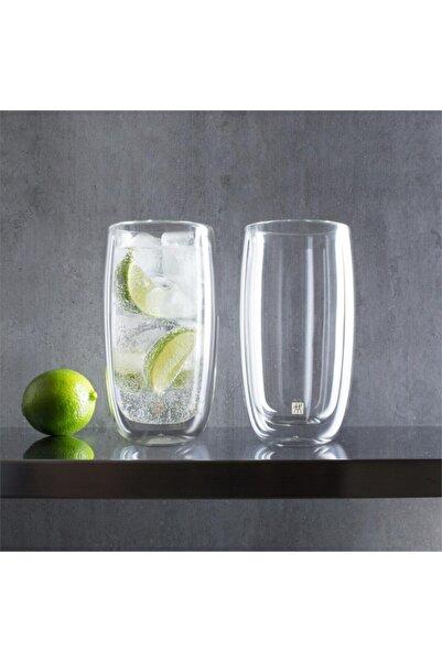 ZWILLING Beyaz Çift Camlı Su Bardağı 2li Set 395001200