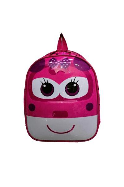 Harika Kanatlar Kız Çocuk Kabartmalı 3d Anaokulu Kreş Günlük Kullanım Sırt Çantası