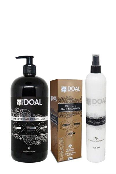 DOAL Keratin Sütü+keratin Şampuanı+keratin Milk Sprey