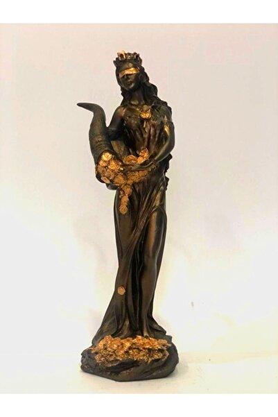 Atadan Bronz Dekoratif Bereket Tanrıçası Heykeli