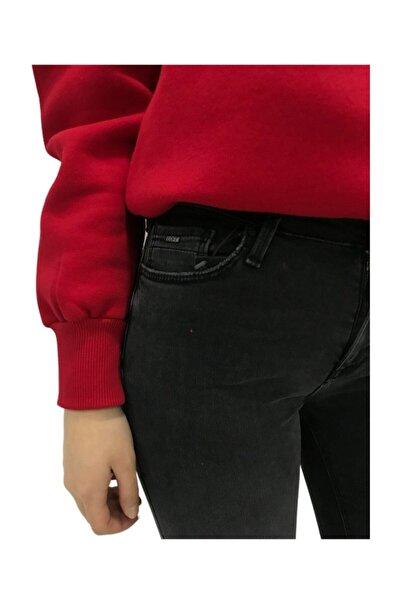 Loft Kadın Antrasit Skinny Fit Jean