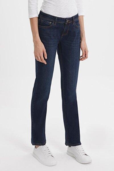 Loft Kadın Lacivert Slim Fit Kot Pantolon